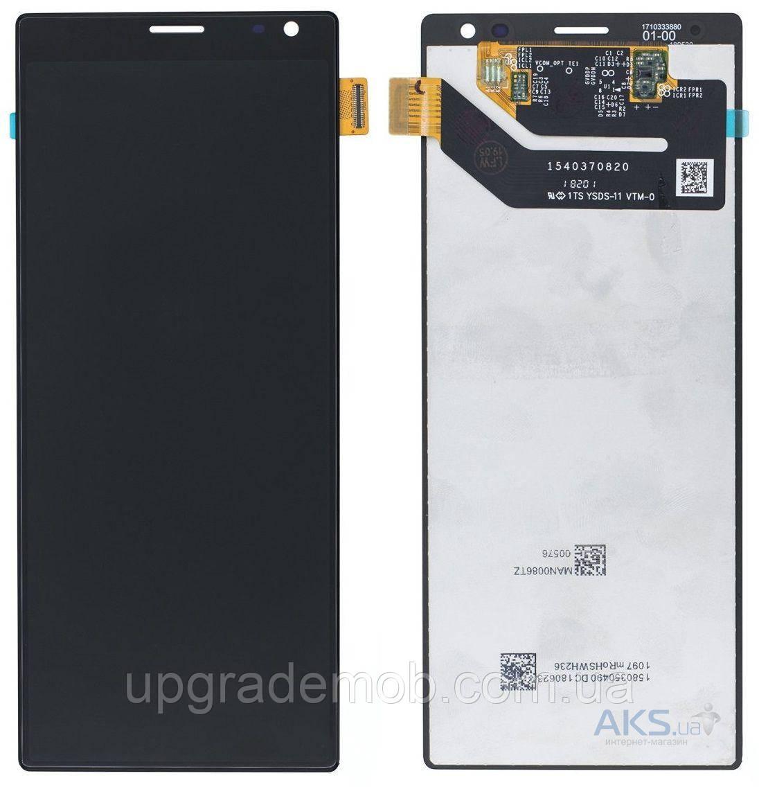 Дисплей Sony i3213 Xperia 10 Plus/i3223/i4213/i4293, XA3 Ultra с тачскрином модуль сенсор, черный