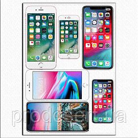 Телефоны 14,5 и 10 см вафельная картинка