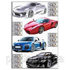 Автомобіль 11 вафельна картинка