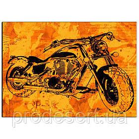 Мотоцикл 2 вафельна картинка