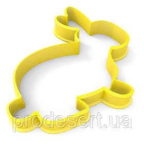 Вирубка для пряників Кролик -3 6,6*7 см (3D)