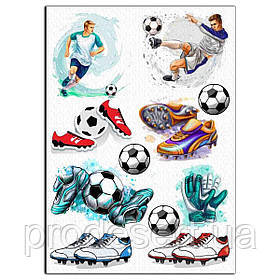 Футбол 3 вафельна картинка