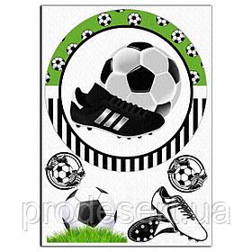 Футбол 4 вафельна картинка