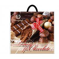 Пакет петлевая ручка 38*34 шоколад 25шт/уп