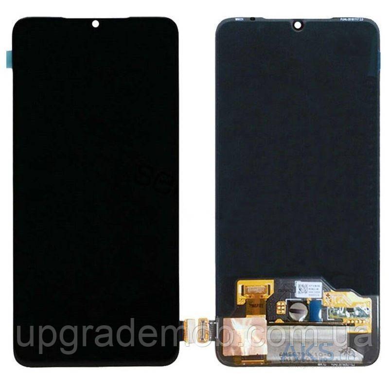 Дисплей Xiaomi Mi A3/CC9e с тачскрином модуль сенсор, черный, OLED, копия хорошего качества