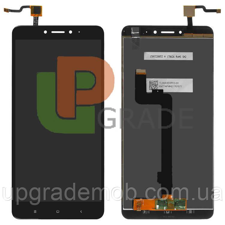 Дисплей Xiaomi Mi Max 2 с тачскрином модуль сенсор, черный