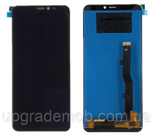 Дисплей Samsung A606F Galaxy A60 2019/M405F Galaxy M40 2019 тачскрин сенсор черный оригинал переклеено стекло