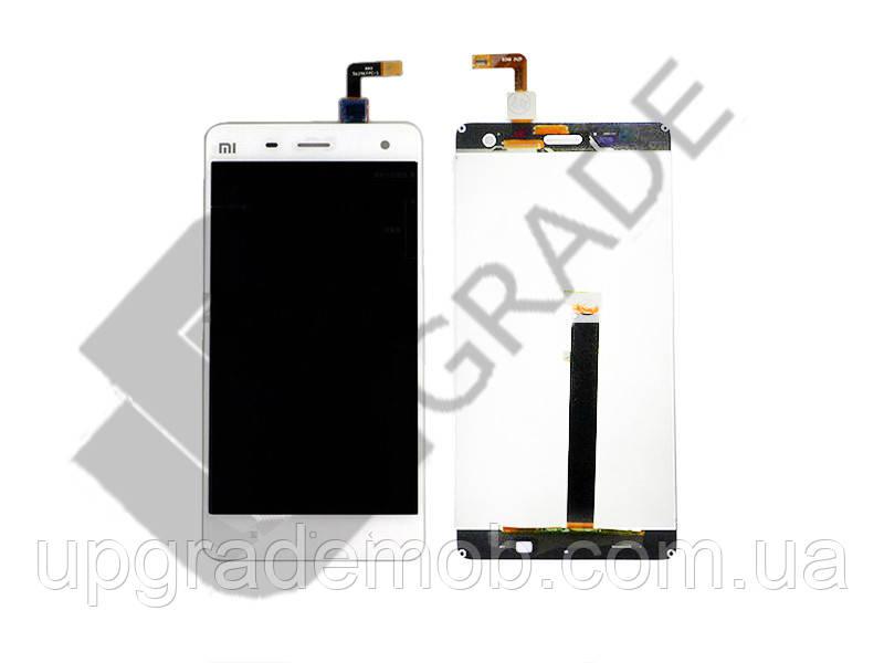 Дисплей Xiaomi Mi4 тачскрин сенсор, белый