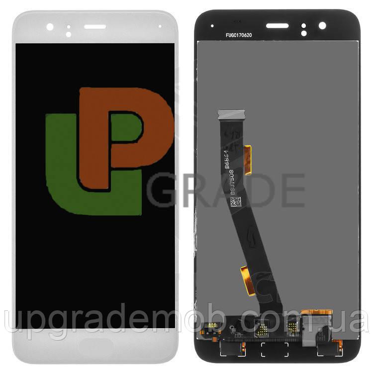 Дисплей Xiaomi Mi6 с тачскрином модуль сенсор, белый, без шлейфа сканера отпечатка пальца