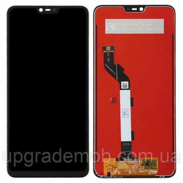 Дисплей Xiaomi Mi8 Lite/Mi8X с тачскрином модуль сенсор, черный, оригинал