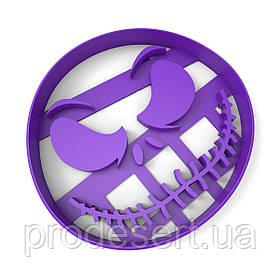 Вырубка для пряников Хеллоуин - Джек 8*8,5см (3D)