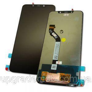 Дисплей Xiaomi Pocophone F1 тачскрин сенсор черный