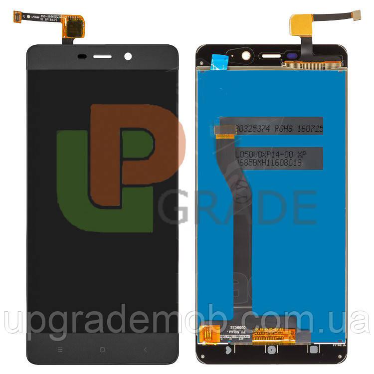 Дисплей Xiaomi Redmi 4 Prime/Redmi 4 Pro тачскрин модуль черный