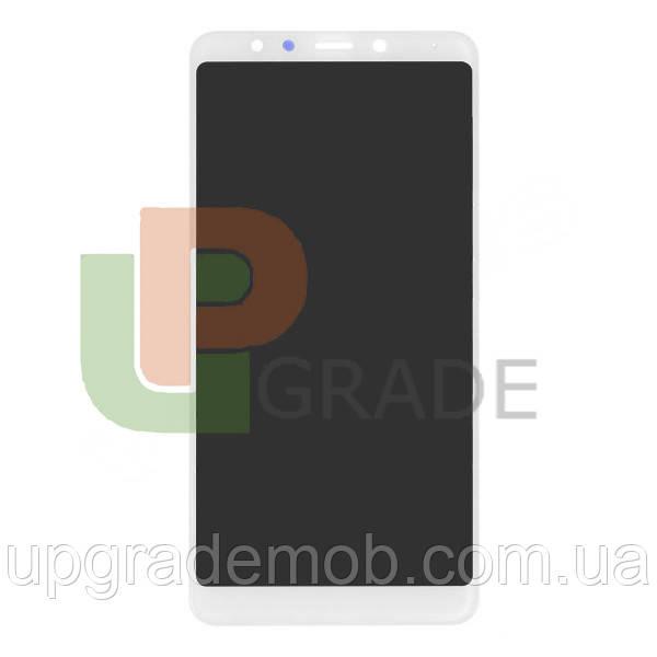Дисплей Xiaomi Redmi 5 с тачскрином модуль сенсор, белый, оригинал