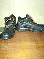 Зимняя кожаная рабочая обувь на меху
