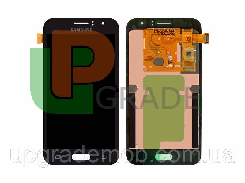 Дисплей Samsung J120H Galaxy J1 2016/J120F тачскрин сенсор модуль, черный, Amoled, оригинал, сервисная
