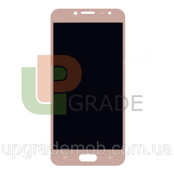 Дисплей Samsung J250F Galaxy J2 2018/J250F Galaxy J2 Pro 2018 с тачскрином модуль сенсор, золотистый, Amoled,