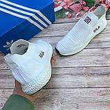 Мужские белые кроссовки Fila (Фила). Реплика. Кеды, мокасины спортивные., фото 8