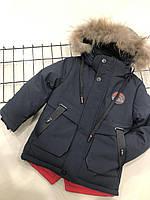 Детская зимняя  курточка для мальчика(на рост 92-98 см), фото 1