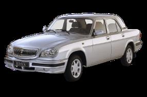 Дефлекторы на боковые стекла (Ветровики) для ГАЗ (GAZ) 31105/3110/31102