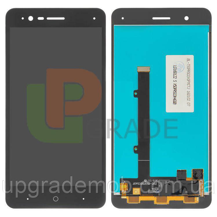 Дисплей ZTE A510 Blade тачскрин модуль черный p/n : FPC-T50PRSCOA1F