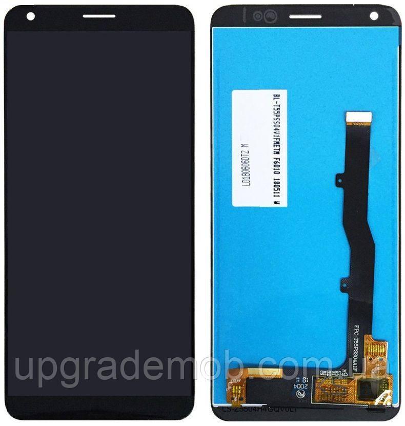 Дисплей ZTE A530 Blade/A606 Blade с тачскрином модуль сенсор, черный