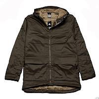 Куртка-парка спортивная adidas HT Trail Parka 2 F95302 (хаки, мужская, зима, -20, синтепон, адидас), фото 1