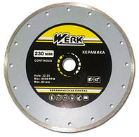 Диск алмазный отрезной Werk WE110123 230x6x22.23 мм