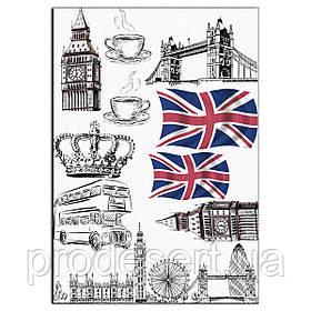 Лондон вафельна картинка