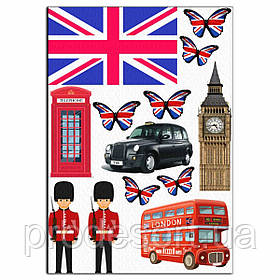 Лондон-1 вафельна картинка