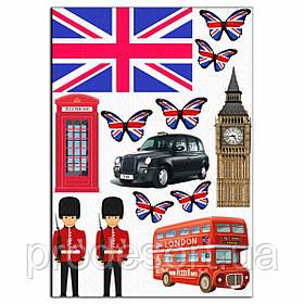 Лондон-1 вафельная картинка