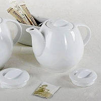 Заварочный чайник белый Lubiana Wawel 450 мл (2020), фото 1