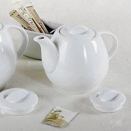 Заварочный чайник белый Lubiana Wawel 450 мл (2020)
