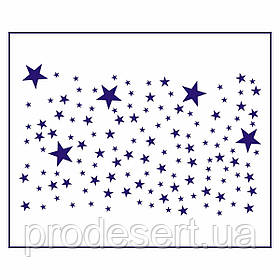 Трафарет Фон Звездное небо 13*8см (TR-1)