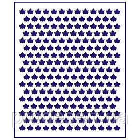 Трафарет Фон Кленовые листья-2 0,7 см (TR-1)