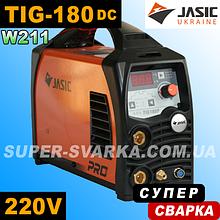 JASIC TIG-180p DC (W211) аргоновая сварка