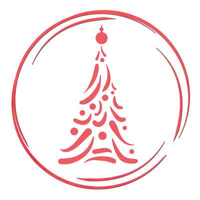 Новый год и Рождество трафареты