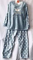 Женская махровая пижама Баталы (р-р 54-58) Купить оптом со склада в Одессе. 7км.