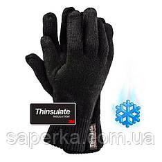 Перчатки трикотажные, утепленные вкладкой Thinsulate  Reis (Польша)