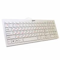 Клавиатура ExtraDigital ED-K101 USB white