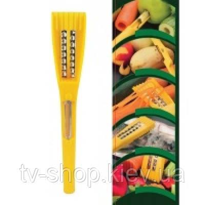 Многофункциональный нож 5 в 1(нарезка,рыбочистка,терка)