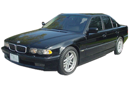 Защита двигателя и КПП для BMW (БМВ) 7 series (E38) 1995-2001