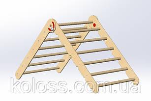 Инструкция по сборке детского комплекса треугольник Пиклер. Детской лесенки напольной.
