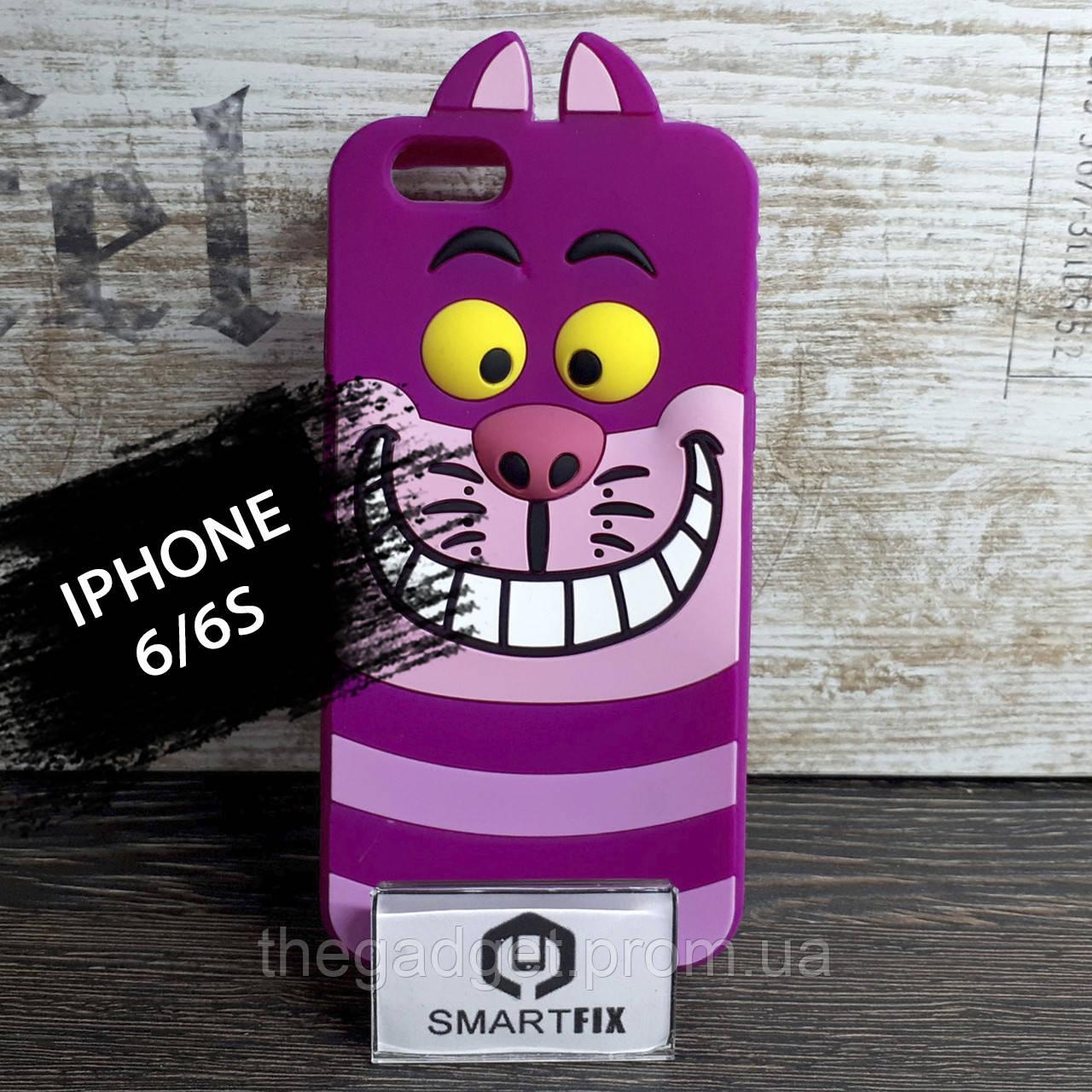 Силиконовый чехол с рисунком 3D для iPhone 6/6S (позиция №5)