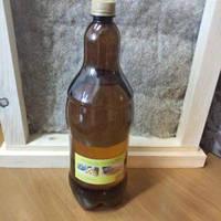 Льняное масло 2 л бутылка с воском для пропитки дерева