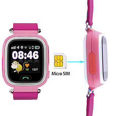 Детские Smart часы Q90, с GPS, pink, фото 2