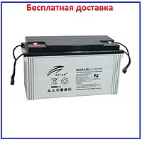 Аккумулятор AGM Ritar 120Ач DC12-120 Gray Case 12V 120Ah, фото 1