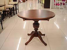 Стол обеденный   круглый   Анжелика  Fn, Орех, орех итальянский, лесной орех,, фото 2