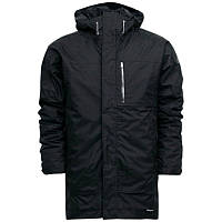 Куртка-парка с безрукавкой спортивная adidas HT Zappan J G88214 (черная, мужская, зима, 3в1, синтепон, адидас)