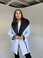 Женская Куртка двусторонняя с боковой застежкой-молнией